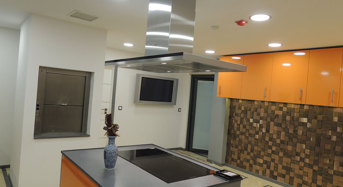 Villa Troia Star Kitchen